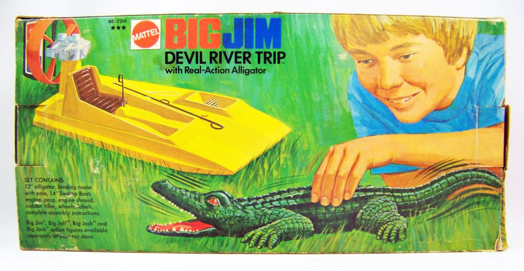 Big Jim Adventure series - Devil River Trip (ref.90-7310) mint in box