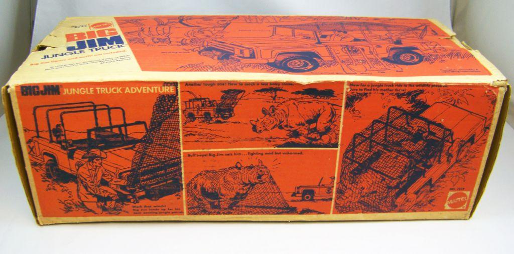 Big Jim Adventure series - Jungle Truck (ref.7319) loose with box