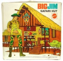Big Jim Adventure series - Loose with box Safari Hut (ref.7628)