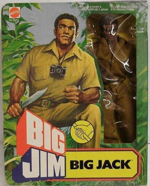 Big Jim Adventure series - Mint in box Big Jack (ref.2265)
