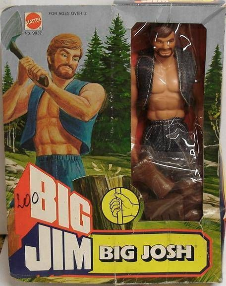 Big Jim Adventure series - Mint in box Big Josh (ref.9937)