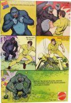 Big Jim Adventure series - Mint in box Jungle Adventure with Gorilla (ref.7317)