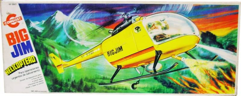 Big Jim Adventure series - Mint in Congost box Rescue Copter (ref.9901)