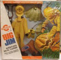 Big Jim Adventure series - Mint in Congost box Terror off Tahiti (ref.7365)