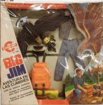 Big Jim Adventure series - Mint in Congost box The Eagle of Danger Peak (ref.7366)
