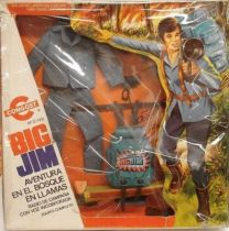 Big Jim Adventure series - Mint in Gongost box Burning Woods Perils (ref.7371)
