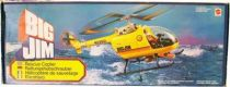 Big Jim Adventure series - Rescue Copter (loose with box) (ref.9901)