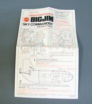 Big Jim Adventure series - Sky Commander plane (ref.7323)