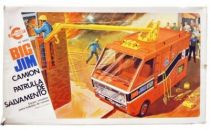 Big Jim Adventure series -Mint in Congost box  Rescue Patrol Rig (ref.9403)