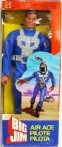 Big Jim Commando series - Mint in box Air Ace Big Jim (ref.2242)