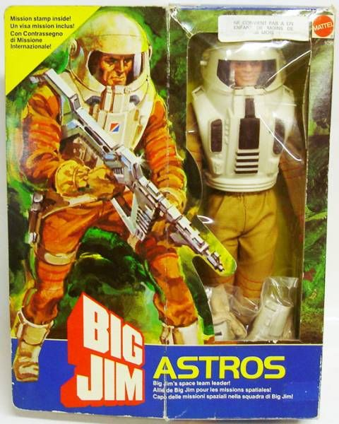 Big Jim Commando series - Mint in box Astros (ref.9296)