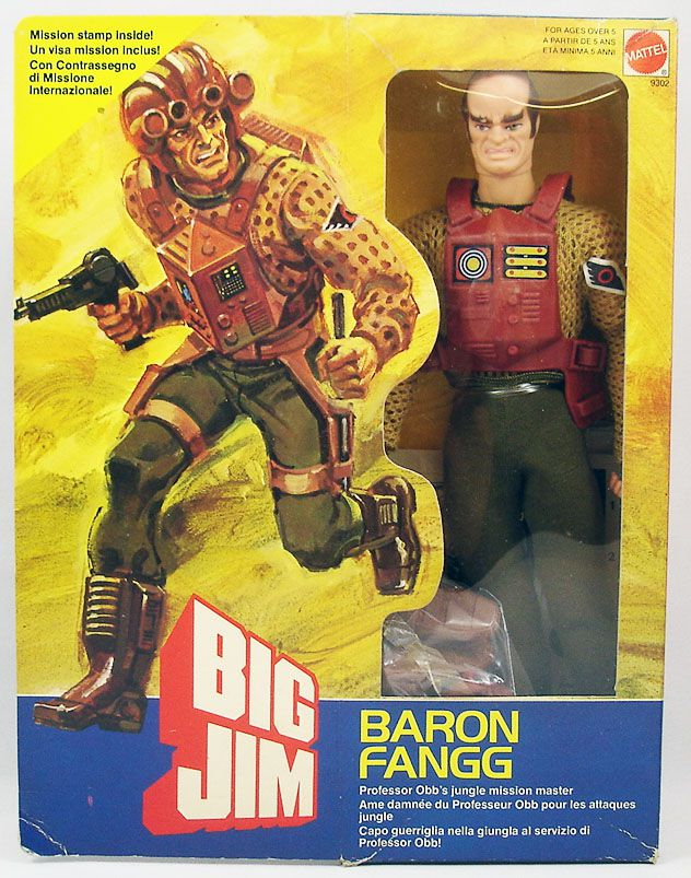 Big Jim Commando Series - Mint in box Baron Fangg (ref.9302)