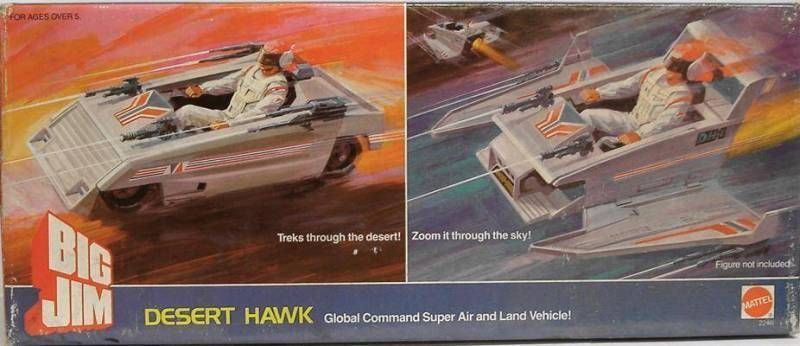 Big Jim Commando series - Mint in box Desert Hawk (ref.2246)