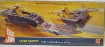 Big Jim Commando series - Mint in box Sand Sniper (ref.2247)