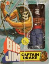 Big Jim Pirates series - Mint in box Captain Drake (ref.2261)