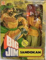 Big Jim Pirates series - Mint in box Sandokan (ref.2263)