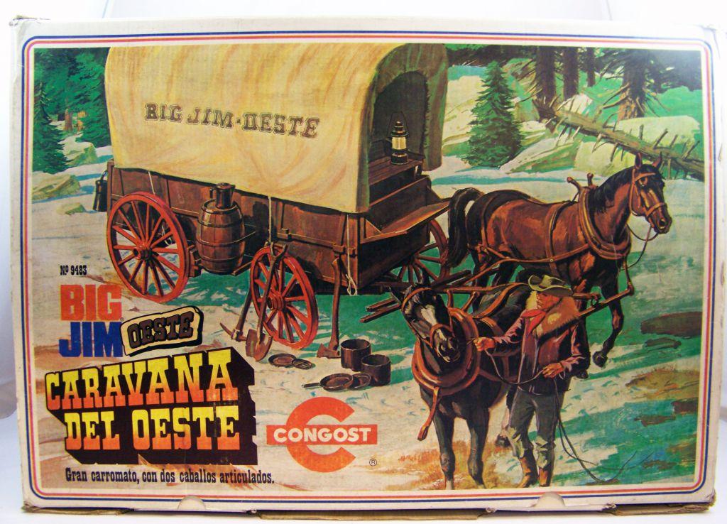 Big Jim Série Western - Chariot de l\'Ouest (ref.9483) Congost