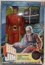 Big Jim Space series - Mint in box Laser Gunner Big Jim (ref.4070)