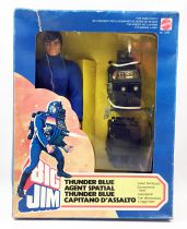 Big Jim Space series - Mint in box Thunder Blue Space Agent (ref.7290)