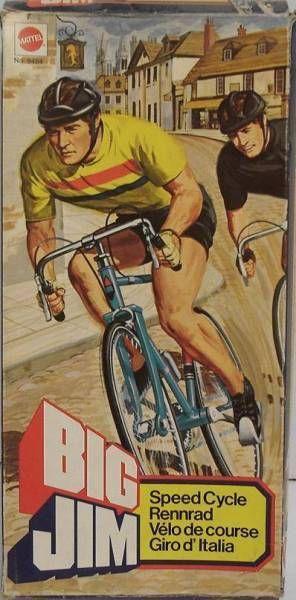 Big Jim Sport series - Mint in box Speed Cycle (ref.9484)