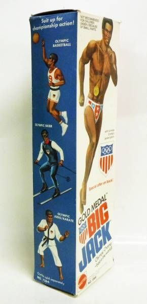 Big Jim Sports series - Mint in box Big Jack Olympic Gold Medal (ref.7364)