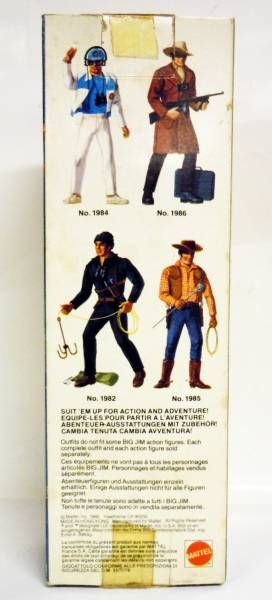 Big Jim Sports series - Mint in box Sportsman Big Jim (ref.3241)