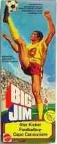 Big Jim Sports series - Mint in box Star Kicker Big Jim (ref.8210)