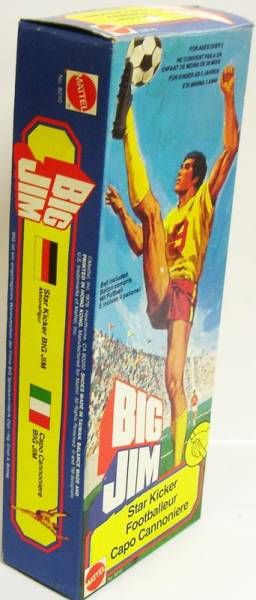 Big Jim Sports series - Mint in box Star Kicker Big Jim (ref.8210)
