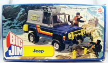Big Jim Spy series -  Jeep 004 (ref.5258) mint in box
