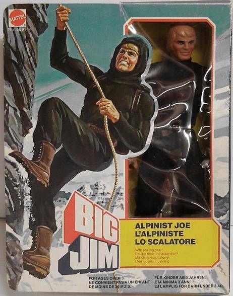 Big Jim Spy series - Mint in box Alpinist Joe (ref.5099)
