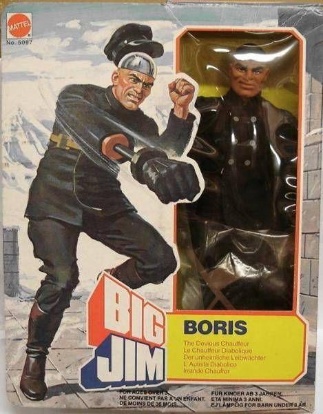 Big Jim Spy series - Mint in box Boris (ref.5097)