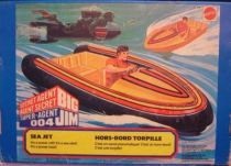 Big Jim Spy series - Mint in box Sea Jet (ref.8927)