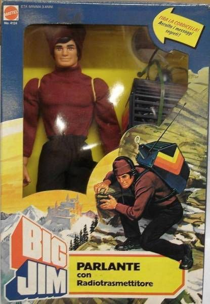Big Jim Spy series - Mint in box Talking Big Jim (ref.4071)