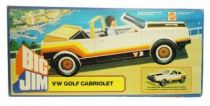 Big Jim Spy series - Mint in box White VW Golf Cabriolet (ref.8299)