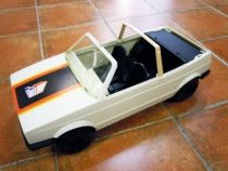 Big Jim Spy series - Mint in box White VW Golf Cabriolet (ref.8299)