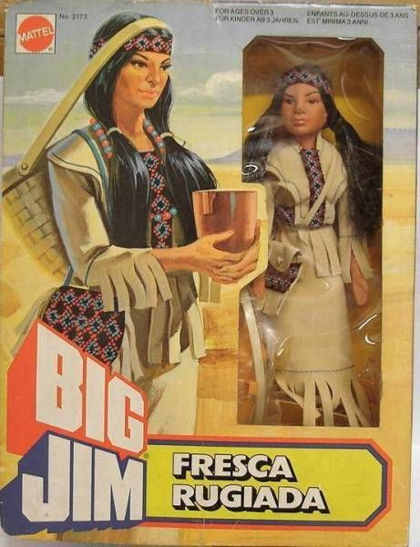 Big Jim Western series - Mint in box Fresca Rugiada (ref.2173)