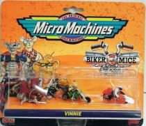 Biker Mice from Mars - Micro Machines set #2 (Vinnie & Greasepit) - Galoob-Ideal