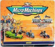 Biker Mice from Mars - Micro Machines set #3 (Modo & Charley) - Galoob-Ideal