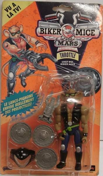 Biker Mice from Mars - Throttle - Galoob-Lansay