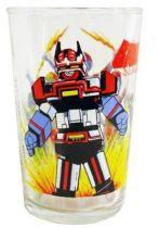 Bioman - Amora drinking glass \'\'Biomen & Bio-Robo\'\'