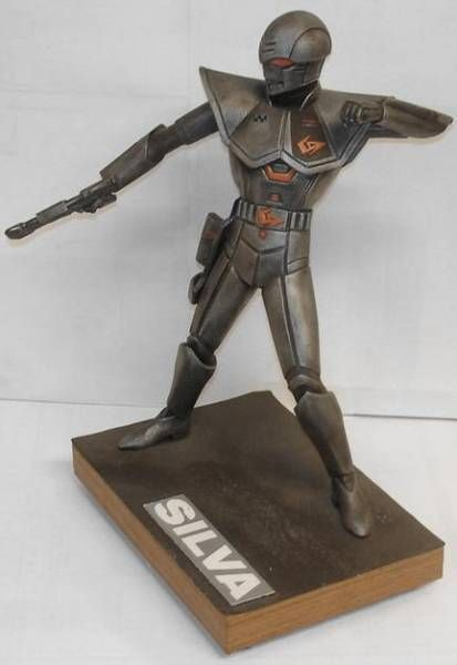Bioman - Bio-Hunter Silva - assembled vinyl kit