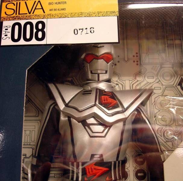 Bioman - Bio-Hunter Silva - Medicom 12\\\'\\\' figure