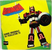 Bioman - Disque 45Tours - Bande Originale du feuilleton Tv - Disques Ades 1985