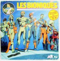 Bionic Six Original French TV series Soundtrack - Mini-LP Record - AB Prod. 1987
