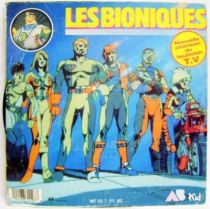 Bionic Six Original French TV series Soundtrack - Mini-LP Record - AB Prod. 1987