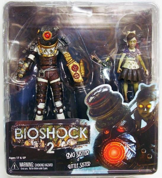 Bioshock 2 - Big Sister & Little Sister - NECA
