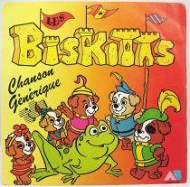 Les Biskitts - Disque 45Tours - AB Prod. 1985