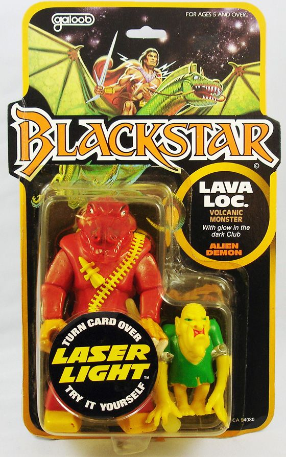 Blackstar - Lavaloc & Alien Demon (Galoob)