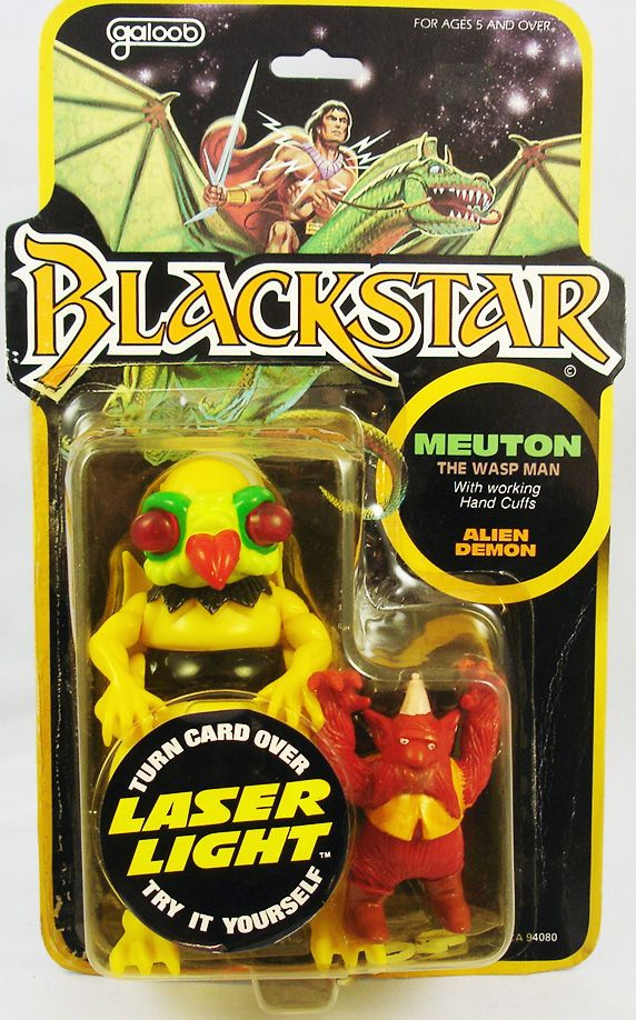Blackstar - Meuton & Alien Demon (Galoob)