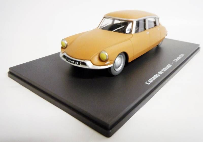 Blake & Mortimer - Hachette - The Affair of the Necklace : Citroën DS